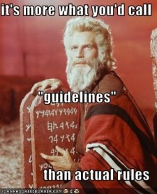guidelines rules