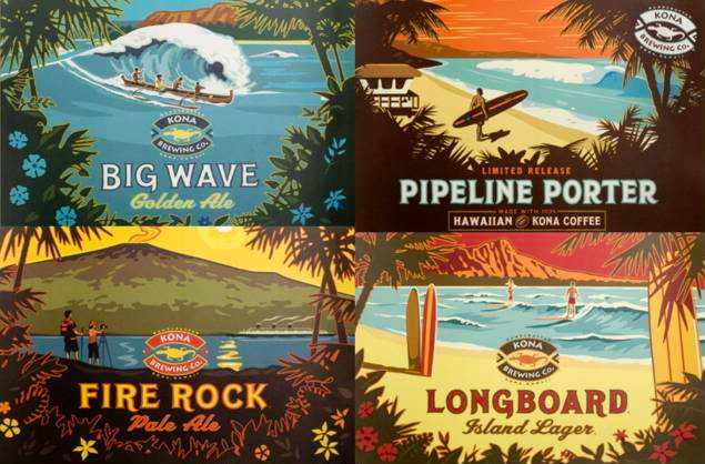 Great-beers-best-local-beer-hawaii-beer-longboard-lager-big-wave-golden-ale