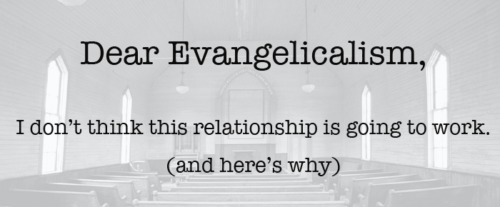 Evangelicalism, You Have Traumatized Me